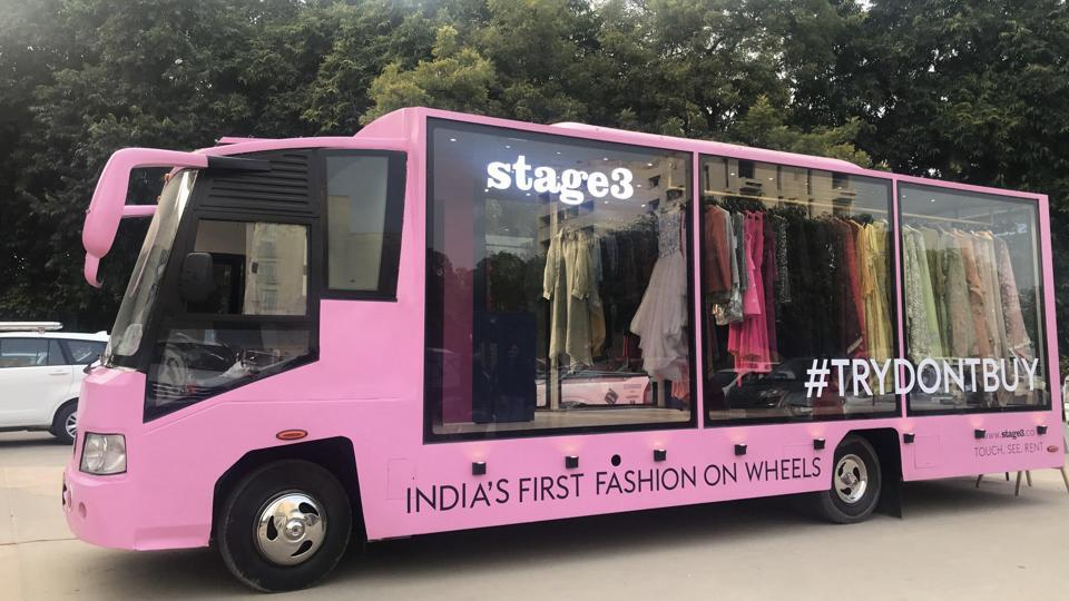 Fashion on wheels: Delhi now has a mobile walk-in closet that allows customers to 'touch, see, and ...