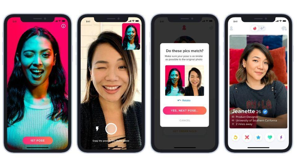 Tinder's new photo verification feature will help users be aware of fake profiles on the dating app.