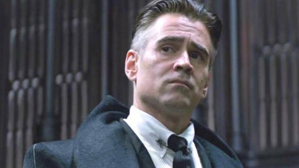 Colin Farrell in a still from Fantastic Beast and Where to Find Them.