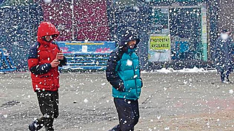 Scattered rain is also likely inJammu andKashmir