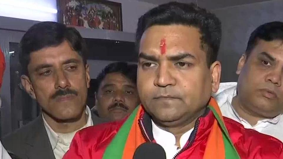 BJP leader Kapil Mishra, who is contesting Delhi Assembly elections from Model Town.