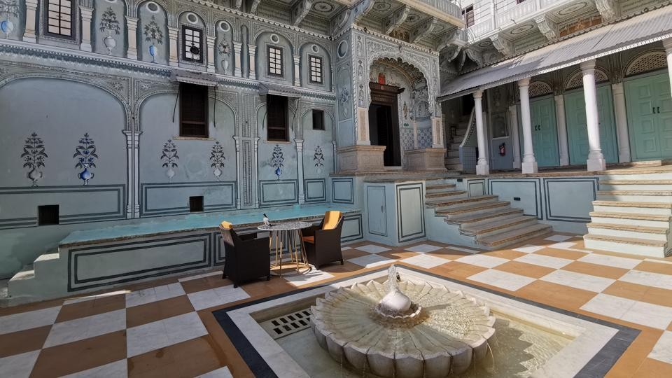 A 300-year-old residence turned into a heritage hotel, this Sarovar property is named The Messenger - Harlalka Haveli.