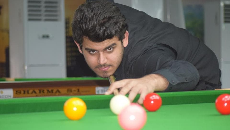 Playing both simple and risky strokes, Haryana's Digvijay Kadian beats Chennai's Srikrishna Suryanarayan in the National Billiards and Snooker Championship final at PYC Hindu Gymkhana on Thursday.