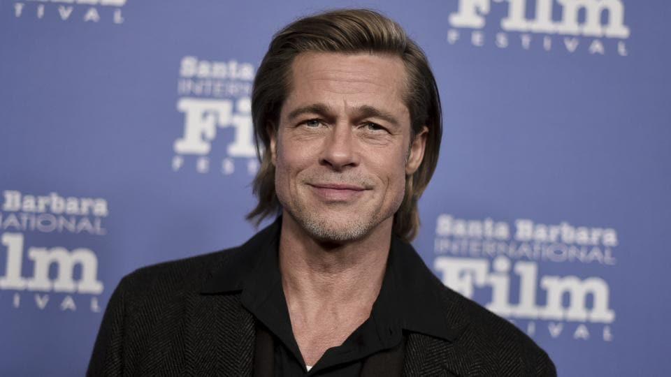 Brad Pitt attends the 2020 Santa Barbara International Film Festival Maltin Modern Master Award.