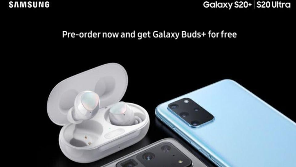 Samsung Galaxy Buds+ will be offered for free with Galaxy S20+, S20 Ultra: Report - tech - Hindustan Times
