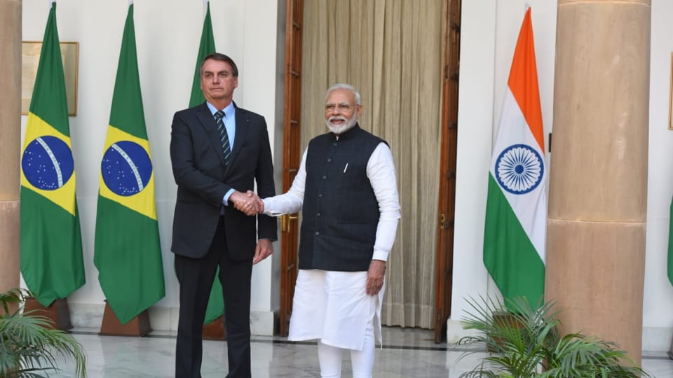 India and Brazil on Saturday inked 15 agreements to ramp up cooperation in a wide range of areas