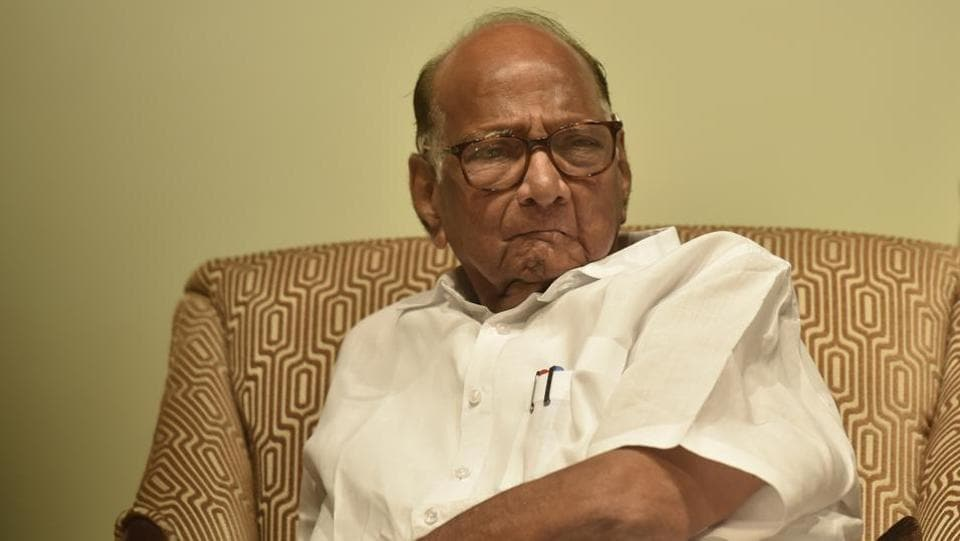 NCP Chief Sharad Pawar accused the Centre of handing over the probe into the  Bhima Koregaon violence case to the NIAbecause it was  afraid that truth will come out.