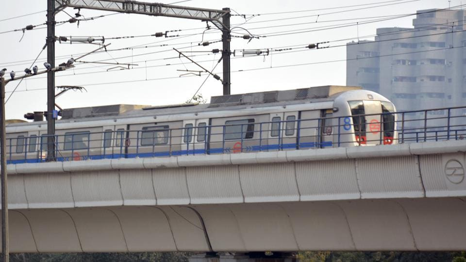 Services of Delhi Metro will be restricted partially on Sunday.