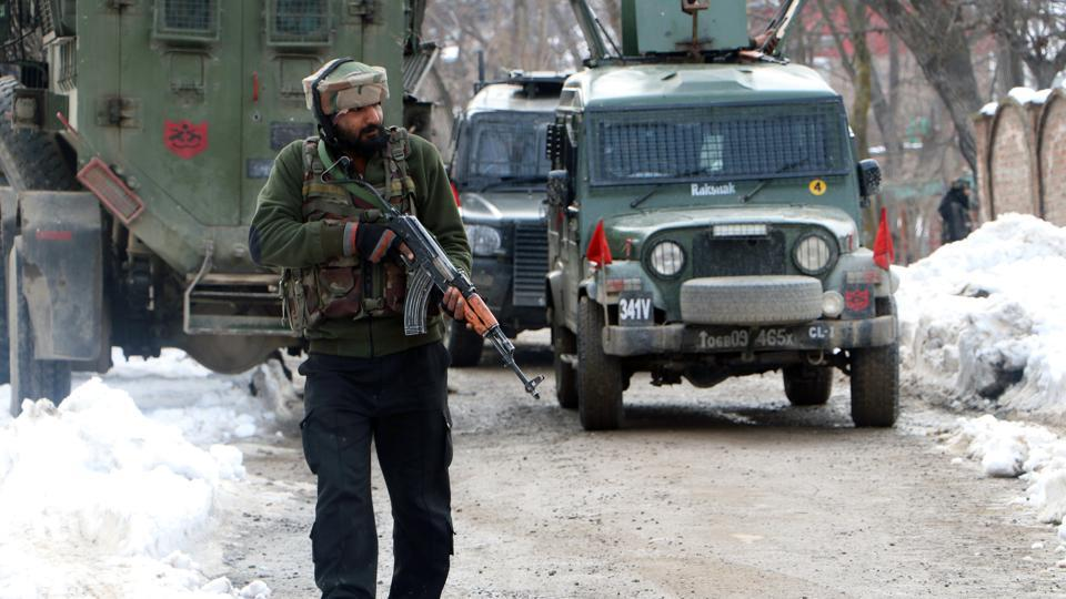 Qari Yasir, a Pakistani, was killed at the Hariparigam village of Tral after a day-long encounter with security forces