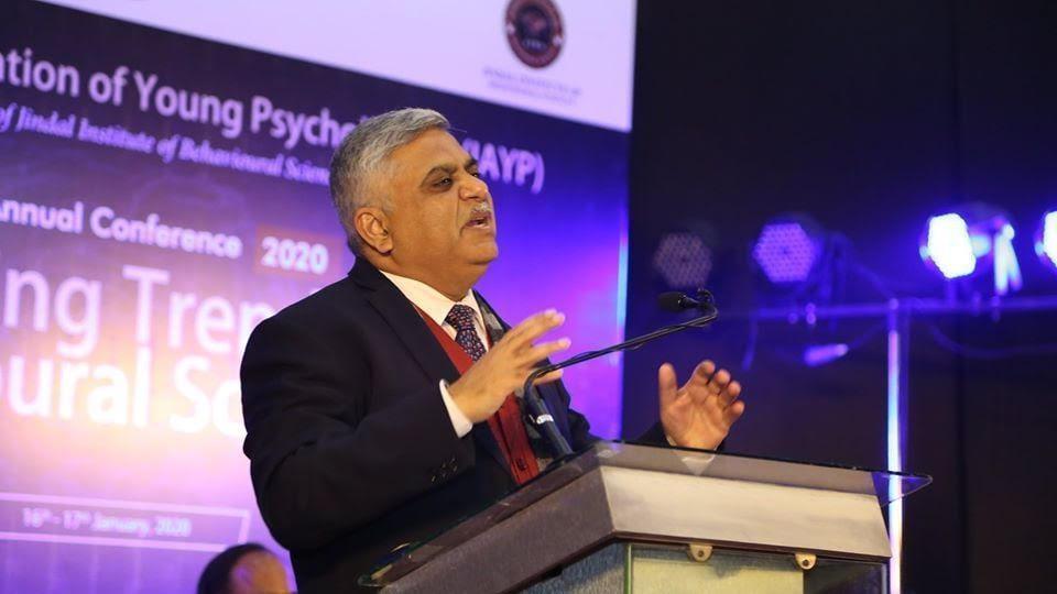 Dr. Sanjeev P Sahni, the Principal Director of The Jindal Institute of Behavioural.