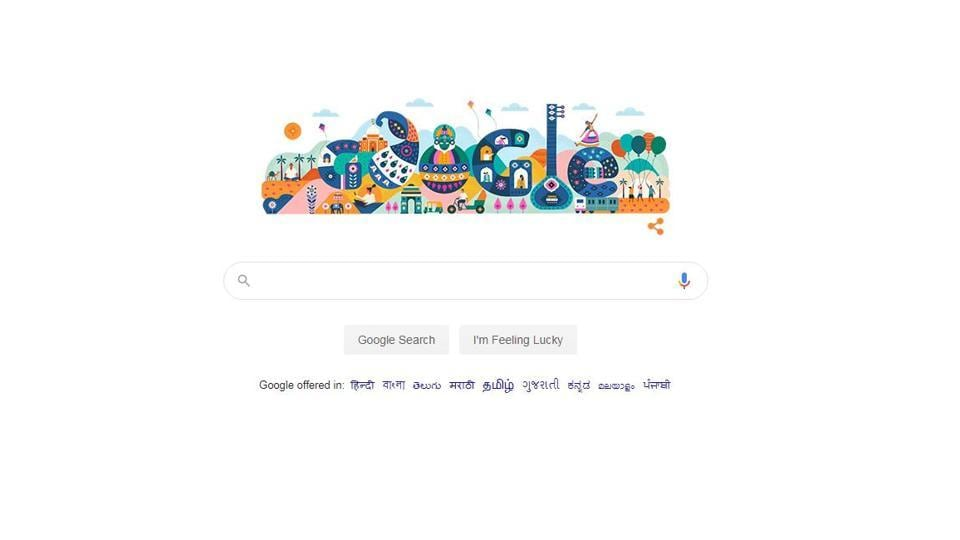 Google celebrates India's 71st Republic Day with a doodle - india news - Hindustan Times
