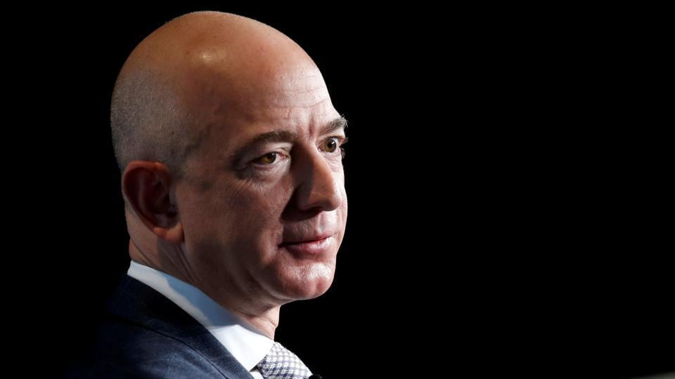Jeff Bezos in February last year accused National Enquirer of blackmail and extortion.