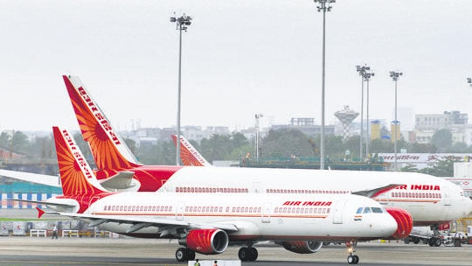 The national carrier Air India celebrated the 71st Republic Day by distributing 30,000 Indian flags