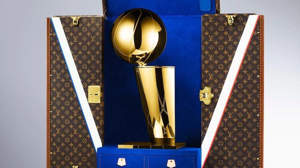 Louis Vuitton and NBA announce global partnership; to design case for NBA trophy.