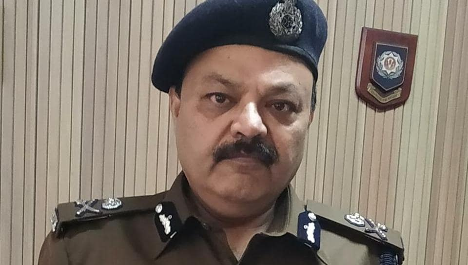 Delhi Fire Services director Atul Garg