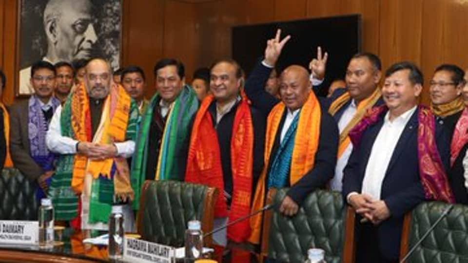 There are speculations that the deal might lead to the extension of the authority of the Bodoland Territorial Council (BTC) beyond the four districts under Bodoland Territorial Area Districts (BTAD)—Chirang, Baksa, Kokrajhar and Udalguri—and include portions of Biswanath, Lakhimpur and Sonitpur districts. (ANI photo)