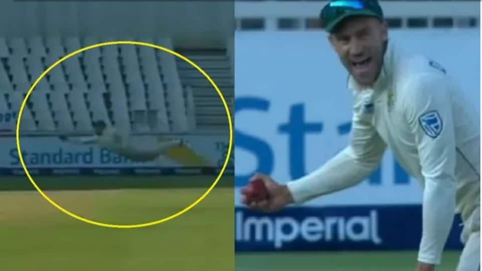 Faf takes a blinder