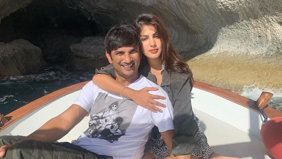 Rhea Chakraborty neither confirmed nor denied her relationship with Sushant Singh Rajput.