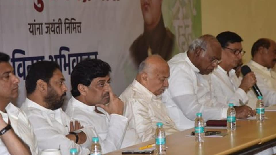 Ashok Chavan said that the Congress joined the government just to keep the BJP out and on the insistence of the Muslim community. (Photo @AshokChavanINC)