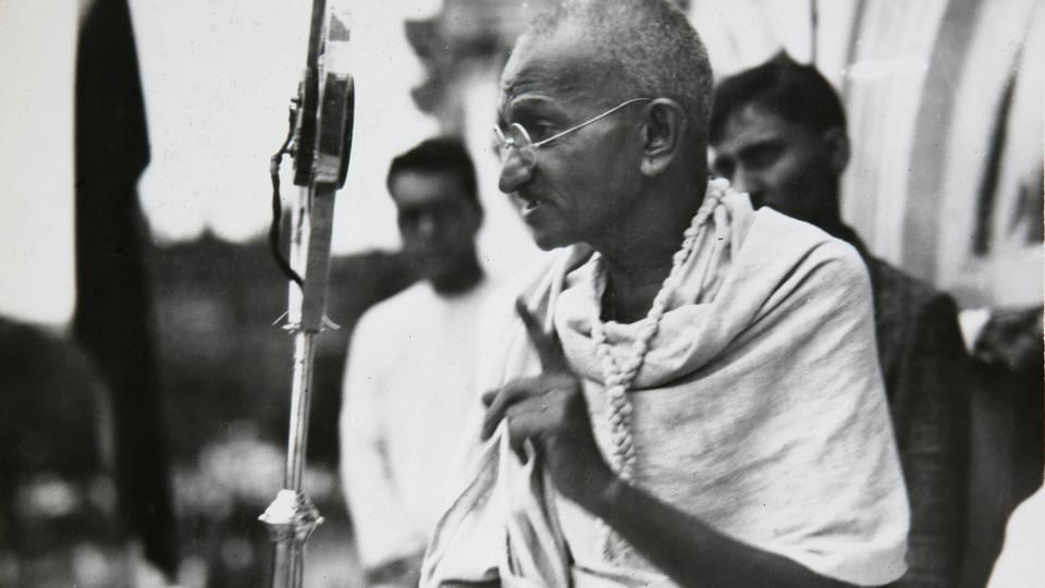 It is time to ask whether Mahatma Gandhi laid down his life for this