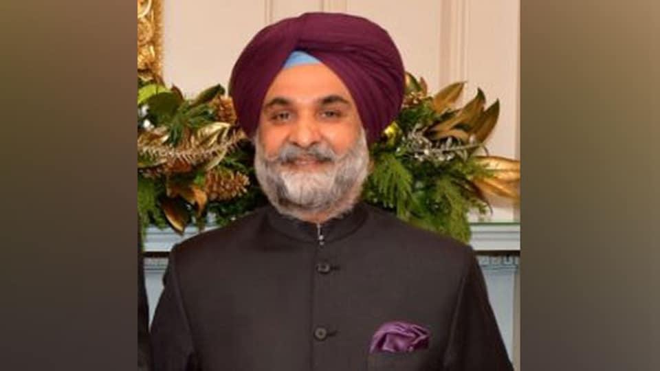 File photo of Taranjit Singh Sandhu. (ANI)