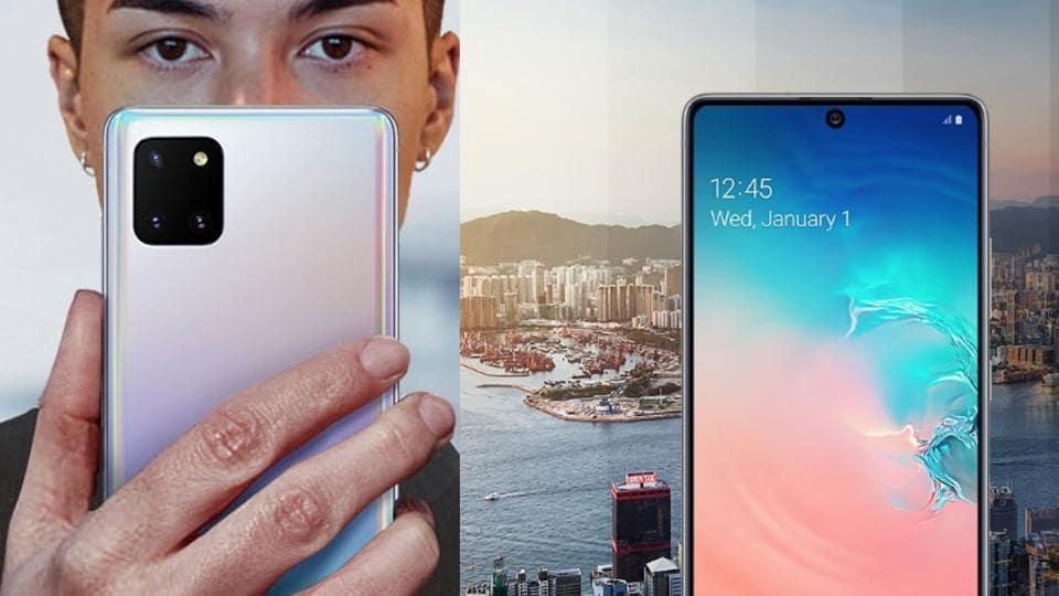 Samsung Galaxy S10 Lite vs Note 10 Lite