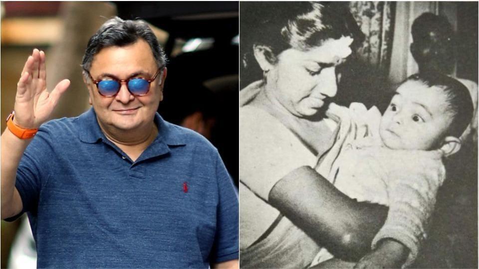 Rishi Kapoor has thanked Lata Mangeshkar for her blessings.