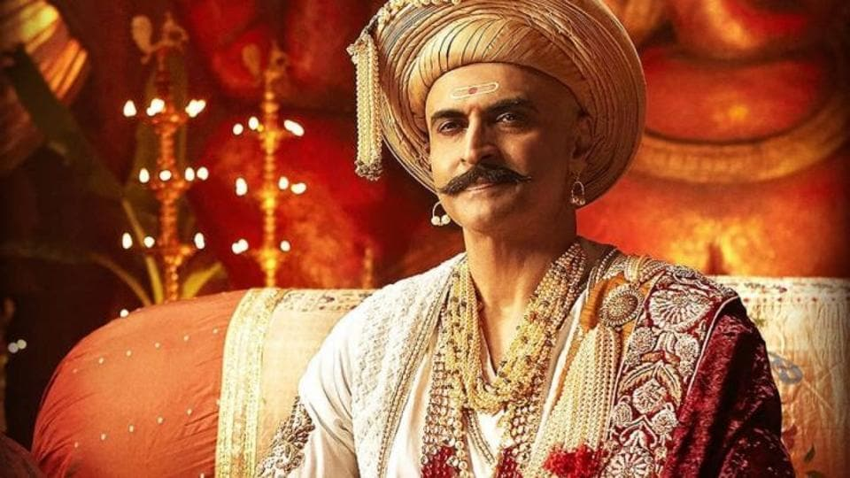 Mohnish Bahl played Balaji Baji Rao in Panipat.