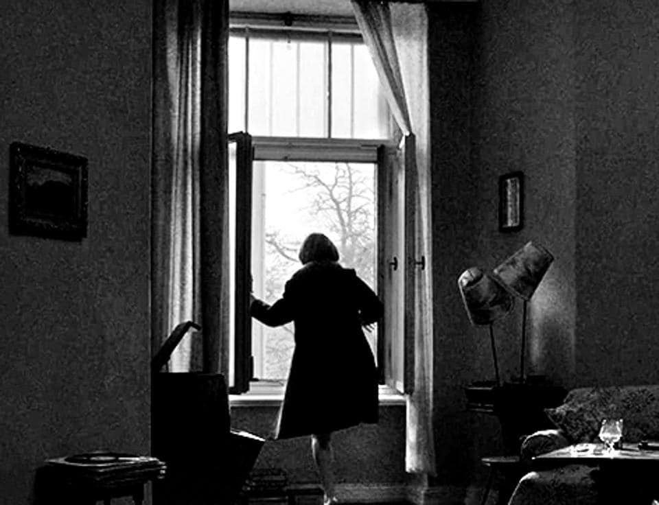 A still from the black-and-white gem, Ida. The protagonist is about to take vows as a Catholic nun when she finds out her family was Jewish, and her parents killed in the Holocaust.