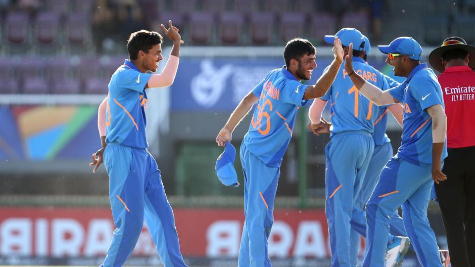 India beat Australia by 74 runs.