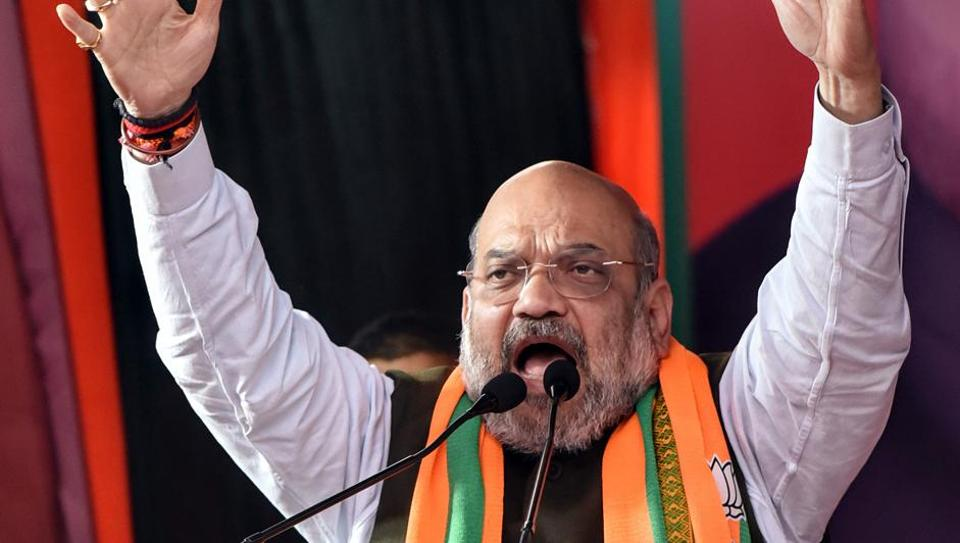 Amit Shah was addressing party workers and intellectuals at the party headquarters 'Kushabhau Thakre Parisar' in Boriya-Kala area after chairing the Central Zonal Council meeting in Raipur.