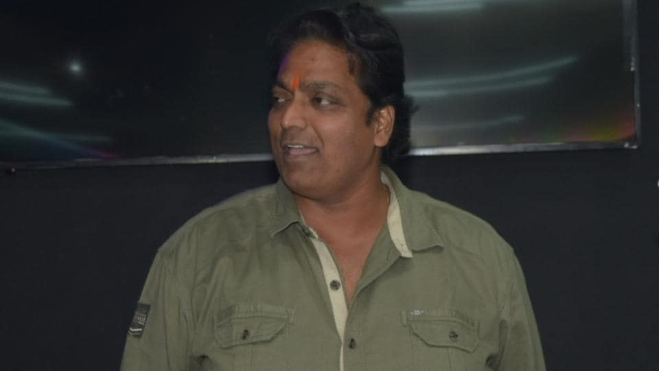 Choreographer Ganesh Acharya at the launch of a dance studio in Mumbai.