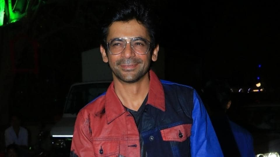 Actor Sunil Grover at the inauguration of casting director Mukesh Chhabra's new office.