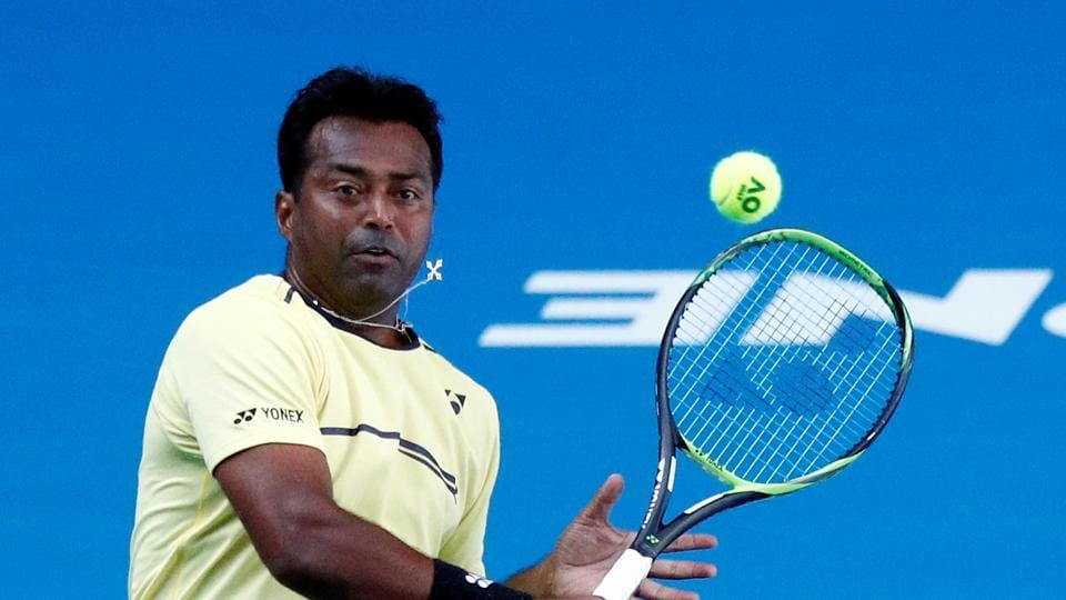 File photo of Leander Paes.