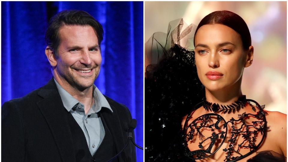 Irina Shayk and Bradley Cooper split in 2019.