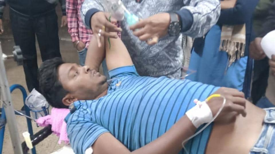The injured are being treated at a hospital in West Bengal's Murshidabad.