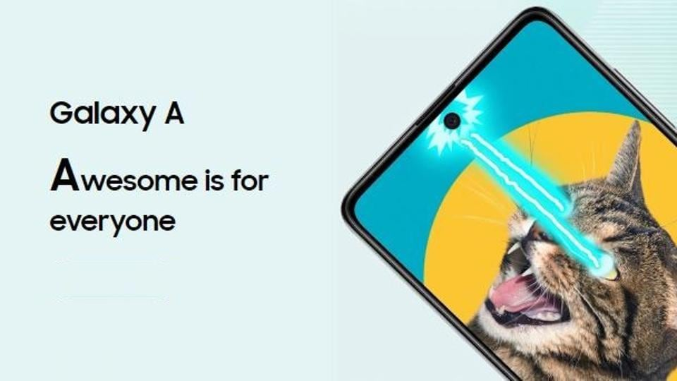 Samsung could launch GalaxyA71 alongside Galaxy A51 today.