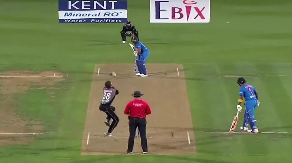 India vs New Zealand Super Over video highlights