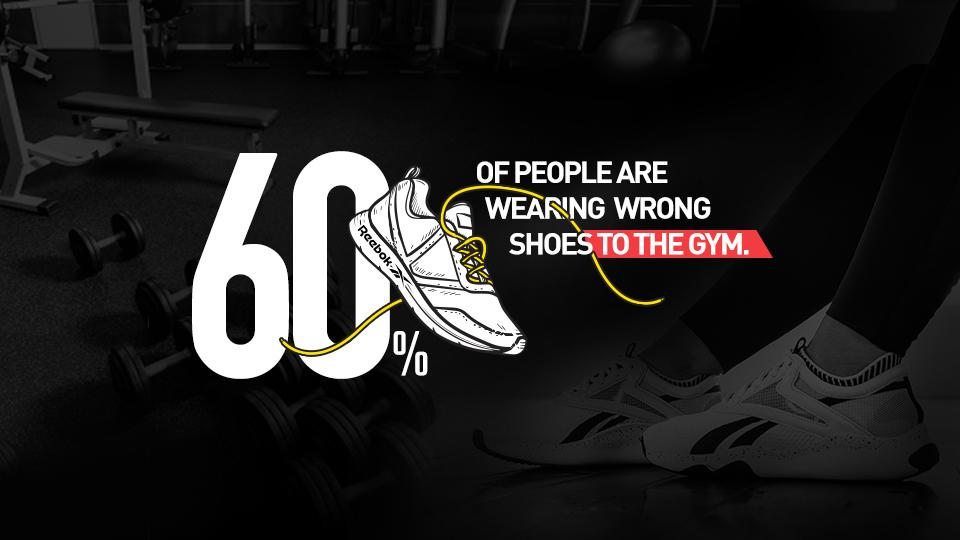 Choose the right pair, switch to the Reebok HIIT.