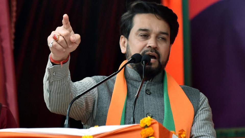 Anurag Thakur and Parvesh Verma will continue to campaign for the party as the Election Commission has not asked to stop their campaigns, stressed Ashok Goel.
