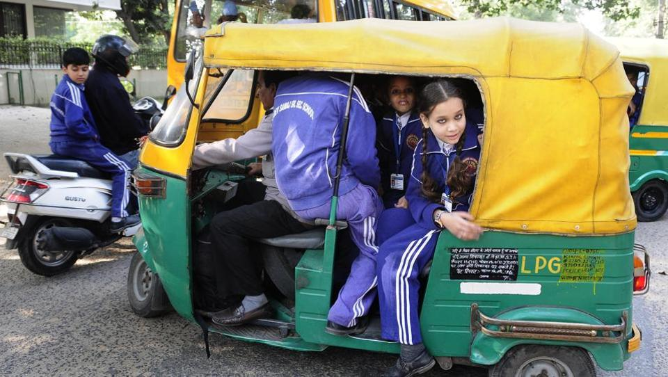 Eleven auto drivers were also challaned for talking on the phone while driving. (Picture for representative purpose only)