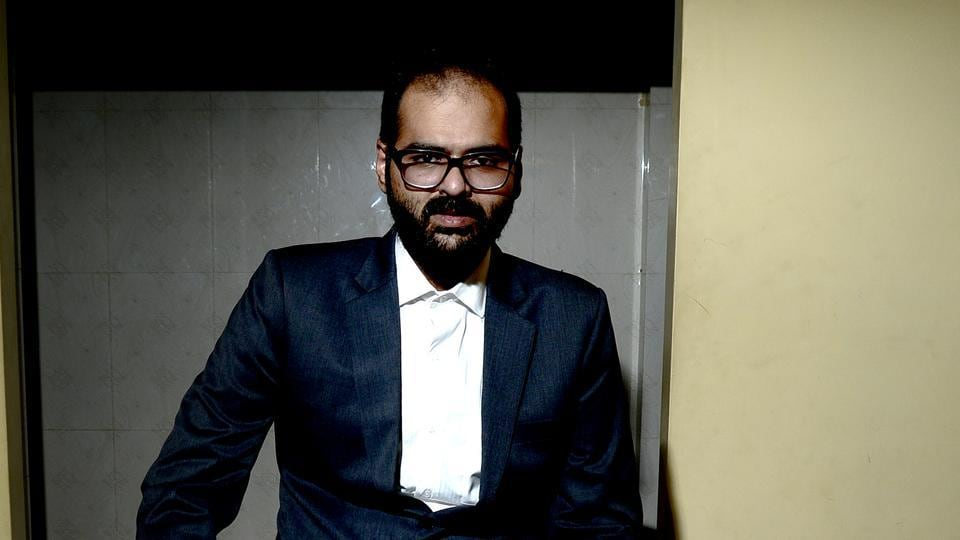 File photo of stand-up comedian Kunal Kamra.