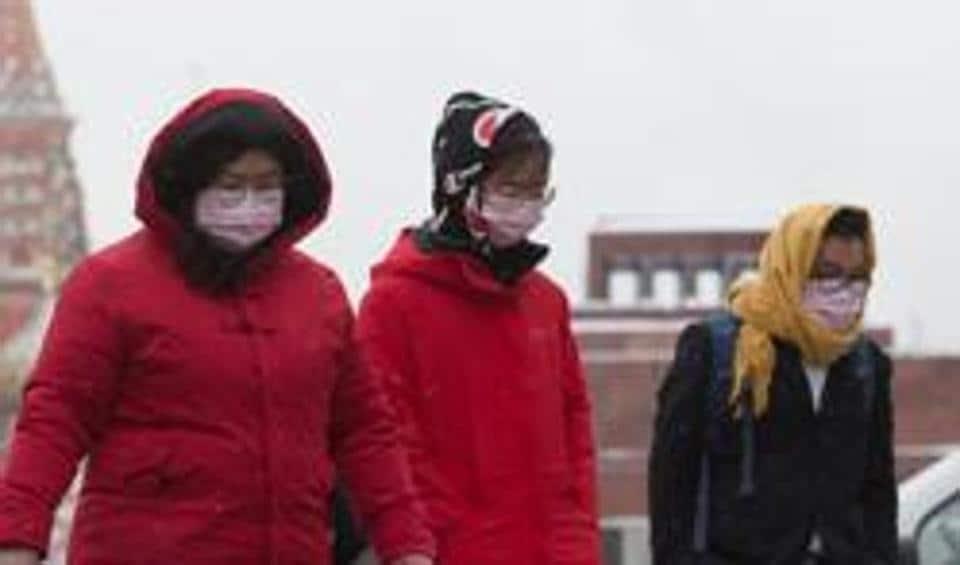 In the picture, tourists are seen wearing protective face masks. Prime Minister Imran Khan already directed a high level meeting of stakeholders to make plans to deal with any emergency.