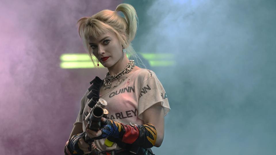 Margot Robbie as Harley Quinn in a still from Birds of Prey.