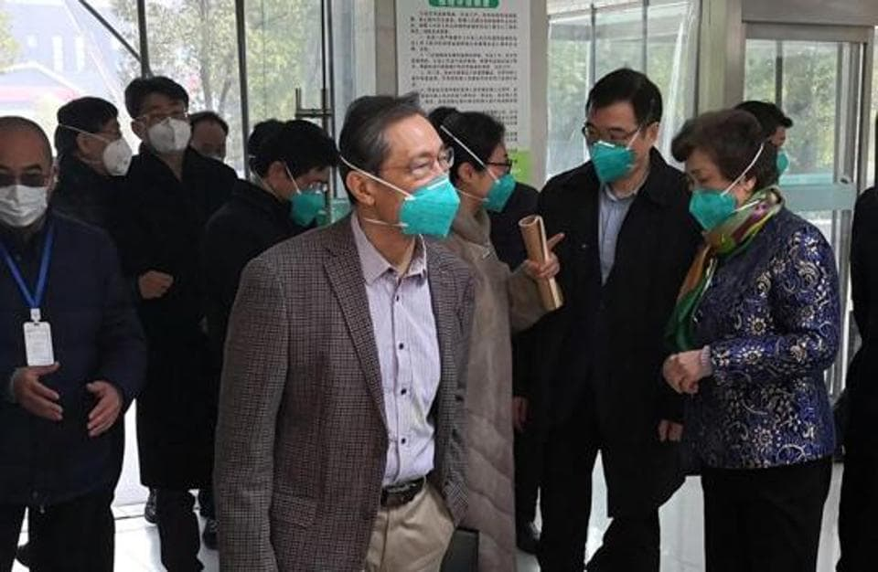 Zhong Nanshan, a respiratory expert and head of the health commission team investigating the outbreak of the coronavirus