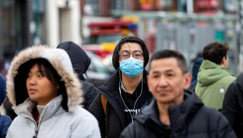 The number of confirmed cases in the new virus outbreak in China reached 5,974 on Wednesday
