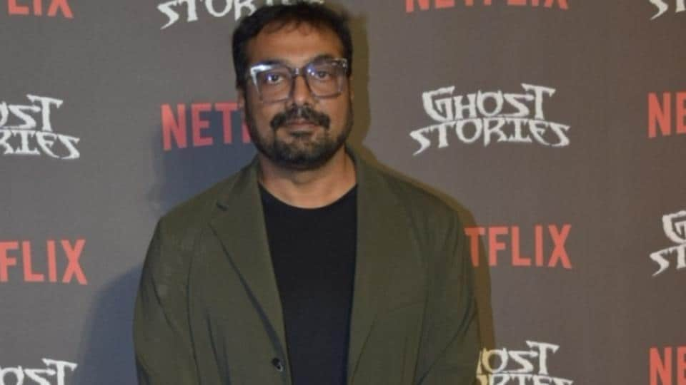 Director Anurag Kashyap at the screening of the upcoming Netflix film Ghost Stories.