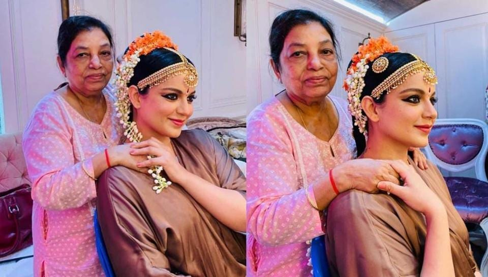 Kangana Ranaut's team shared a post to wish hairstylist Maria Sharma on her 50th work anniversary.