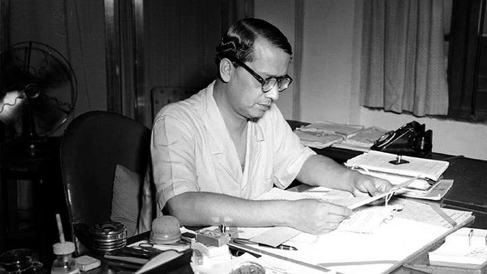 Sukumar Sen, India's first chief election commissioner and conducted the first general elections of Independent India in 1951-52.