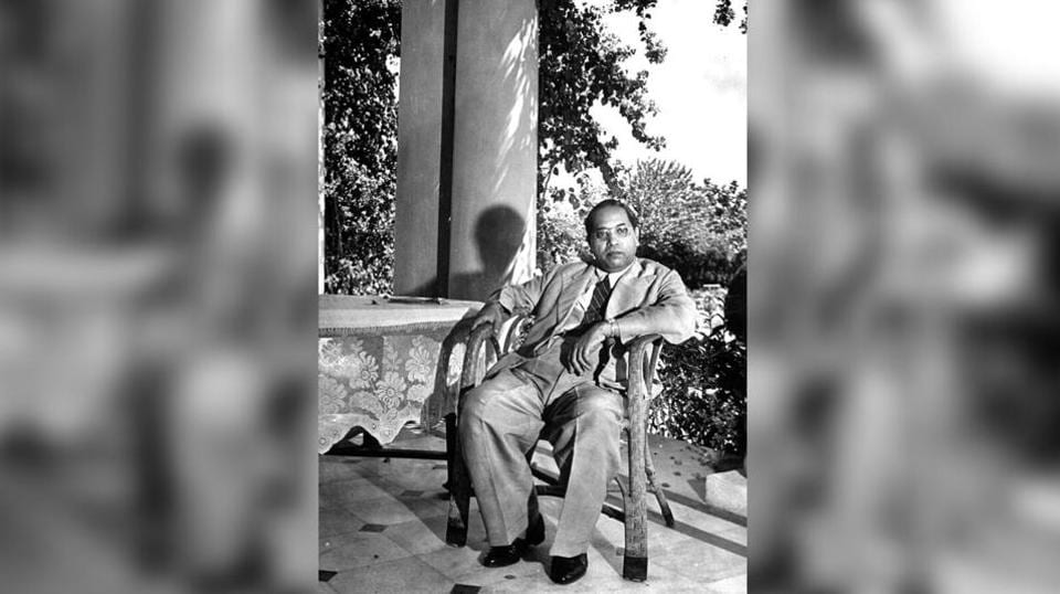 BR Ambedkar, May 1946. Photo by Margaret Bourke-White/The LIFE Picture Collection via Getty images
